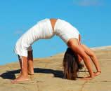 Anandayoga Ibiza Yogaübung
